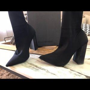 Tony Bianco Black Ankle Boots